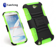 Hard plastic rubberized skin case cover for samsung galaxy note 2 phone case