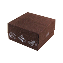 Custom Size Brown Corrugated Cardboard Cake Packaging Box