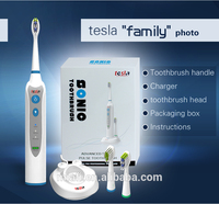 TESLA MAF8120 Soft bristle and home use double head electric toothbrush