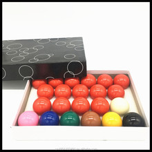 For Children 32MM 22Pcs/Set British Snooker Durable Billiard Balls Resin Snooker Balls