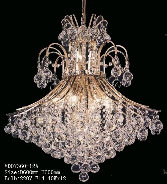 wholesale pearl dress design crystal chandeliers 12 lights