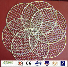Anping galvanized stainless steel crimped barbecue grill wire mesh