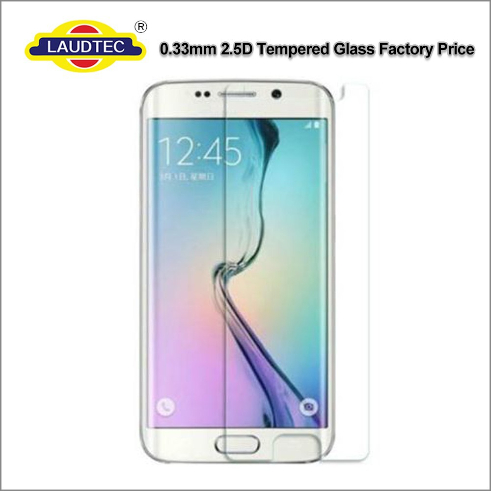 100% Original 9H 2.5D Tempered Glass Screen Protector for Samsung Galaxy S6 edge