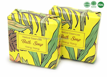 Herbal extract essential oil body care bath soap bath gift set