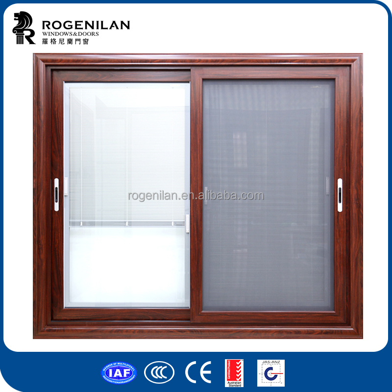 ROGENILAN 150 series aluminium windows with mosquito net in pakistan