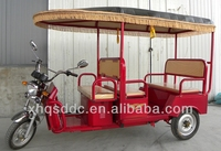 Lightweight Battery Rickshaw three wheel tricycle for passenger