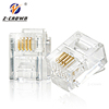 Cat3 Cat5e Cat6 Shielded RJ11 RJ45