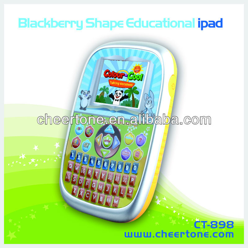 16bit TFT 2.7inch colored screen learing tablet toys educational toys for the blind