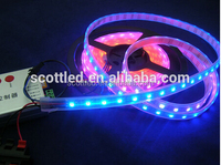 LED display programmable led digital flexible strip with 5v ws2811 ic 60 smd 5050(ws2812b)