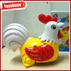 Kids small plastic toy chicken