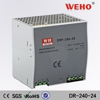 Din rail single output DR-240-24 24v 10a transformer 240w switch power supply