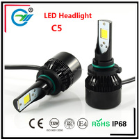 12V LED Car COB Headlight 2800lm H1 H4 H7 9005 9006 Excellent quality Factory Sale LED Driving Light For Toyota