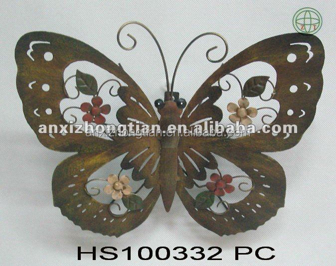 2010 Newest Metal Butterfly Wall Decor