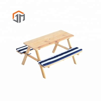 Amazon Ttop Seller 2019 Kids Outdoor Furniture Tables Chairs Picnic Table Set