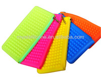Promotional lady bag silicone beaded coin purse
