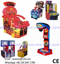 Manufacturer Hammer Boxing Punch Redemption Tickets Simulator Arcade Game Machine