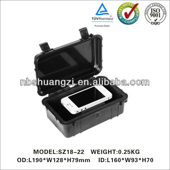 Hard ABS plastic waterproof tool case