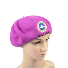 Female Girl Elegant Wool Beret Winter Painter Cap Trendy Warm