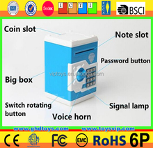 wholesale atm bank toy for children money box plastic smart toy piggy bank promotional gift items plastic piggy bank