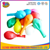 0.85-3.2g colorful inflatable balloon
