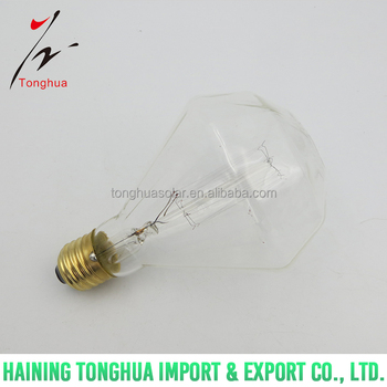 D95 diamond Vintage Light Bulb Retro Edison Style Filament light bulb E27