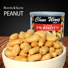 salted peanuts in tins