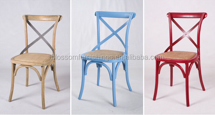 Rentel French X Back Tuscan Chair
