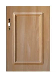 wooden grain PVC kitchen cabinet door panel