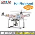 DJI Phantom3 Four-Axle Flyer 4K High Definition Camera Quadcopter Professional Version with Dual Batteries