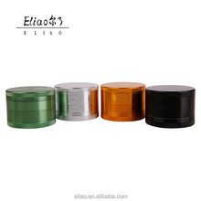 FT-005 Yiwu Futeng Smoking 4Layers Grinder Customized Logo Herb Grinder Wholesale Tobacco Grinder