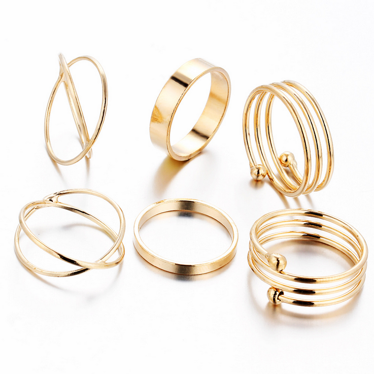 2016 new fashion wholesale Gold <strong>rings</strong> without stones jewelry for women latest gold finger <strong>ring</strong> designs