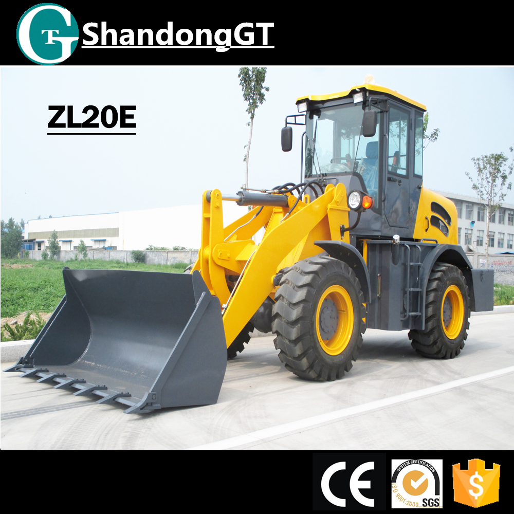 ZL20 tcm wheel loader timber loader tractor rear loader