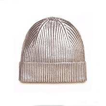 Wholoesale Custom Made Ski Hip Hop Slouch Beanies Bling fold up mens beanie hat