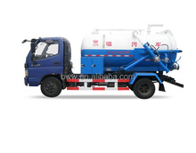 hot sale vacuum sewage suction tanker truck