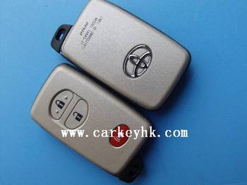 New* Toyota modified flip remote 2+1 buttons key shell casing
