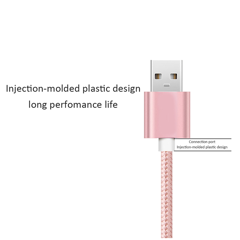 DFIFAN mobile phone accessories High fashion color usb wire cable for iphone 7/8