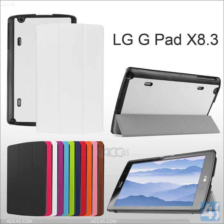 Hot new product fast delivery many models supply factory price flip leather case cover for LG G Pad X 8.3
