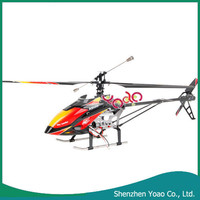 V913 LCD Remote Control 2.4G Big 4CH Single Blade RC Helicopter