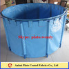 customzied plastic fish pond made in vinly pvc coated tarpaulin fabric