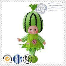 Hot sale promotion high quality fashion funny fruit baby doll