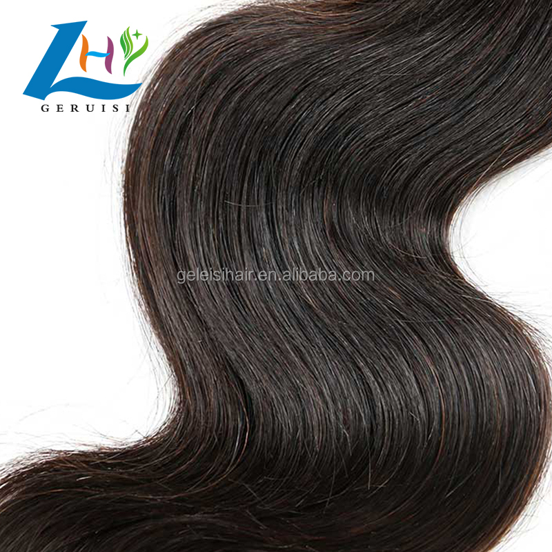 Wholesale Price 10A Raw Indian Temple Body Wave Hair Bundle, Thick Full Cuticle Aligned Hair From India