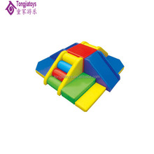 kindergarten kids soft play equipment play area with ground climbing and slide toddler soft play games