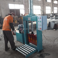 rubber tires cutting machine/waste tire recycling equipment/used tire recycling equipment