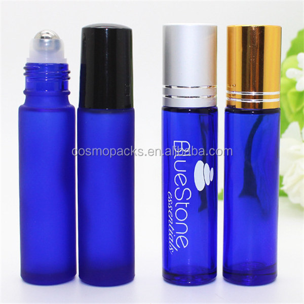 Wholesale 3ml 5ml 6ml 8ml 10ml Glass Perfume Roll On Bottle With Colorful Cap