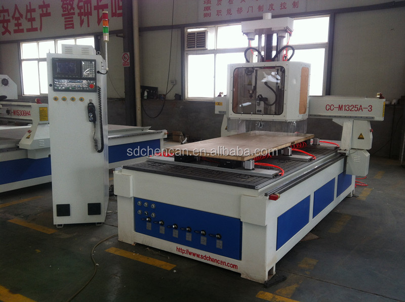Cheap Furniture Making CNC Router Machine for Wood Door Engraving with Rotate Spindle and ATC Function