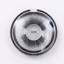 Factory Wholesale Own Brand Lashes 3D Private Label Mink Eyelash With Customized packaging