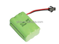 Ni-MH AAA 7.2V 650mAh BATTERY PACK Manufacturer with CE,ROHS,UL certificates
