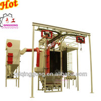Hanging Hook Shot Blast Cleaning Machine For Metal Parts
