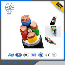 Free Samples low voltage xlpe insulation pvc sheath underground electric cable, armoured power cable size