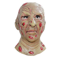 X-MERRY Horror Zombie Skull Latex Rubber Pussy China Supplier Freddy Kluge Halloween Mask